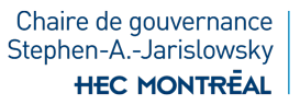 Chaire de gouvernance Stephen-A.-Jarislowsky Logo